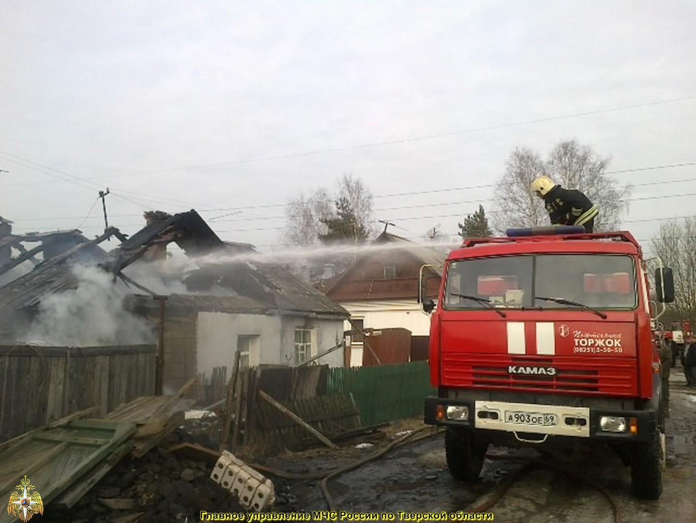 За прошедшую неделю в Тверской области произошёл 21 пожар