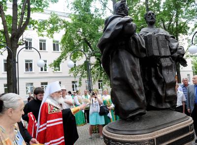 В Твери открыт памятник Кириллу и Мефодию