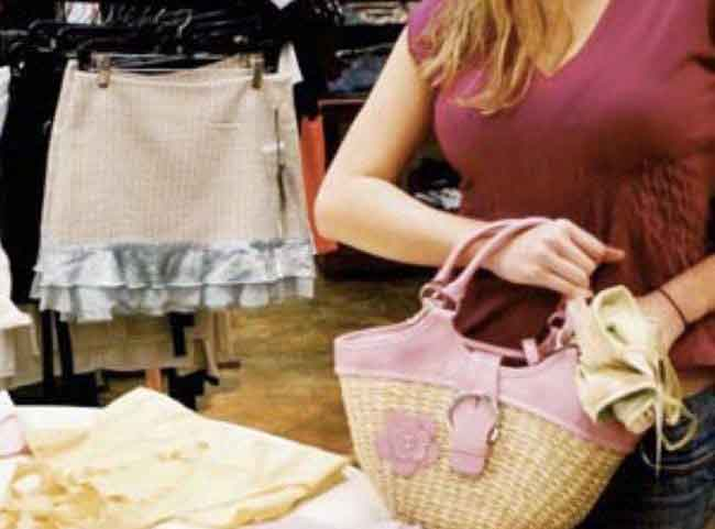 Они мошенничество в магазинах одежды простирались вдаль