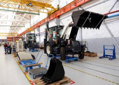 В Твери начали производство экскаваторов нового поколения