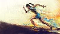 Старицкие бегуны приехали с золотом