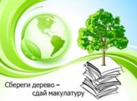 «Сдай макулатуру – спаси дерево!»
