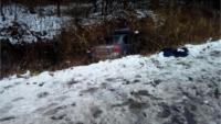 В Кашинском районе пьяная автоледи без прав вылетела в кювет