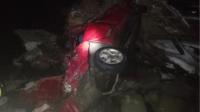 В Молоковском районе легковушка вылетела с моста