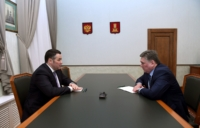 Игорь Руденя встретился с Алексеем Огоньковым