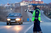 В Бежецке полицейские поймали пьяного лихача
