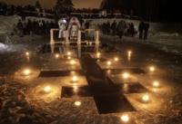 В Крещенских купаниях приняли участие свыше 1400 человек
