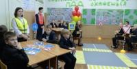 В Оленинской школе сотрудники Госавтоинспекции провели открытый урок
