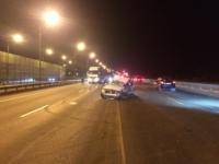 Нетрезвый водитель стал причиной аварии в Калининском районе