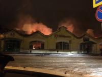 Пожар уничтожил памятник архитектуры в Кимрах