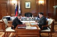 Игорь Руденя и Алексей Миллер обсудили планы по газификации Верхневолжья