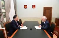 Игорь Руденя встретился с главой Селижаровского района