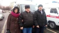 Жарковский получил новый автомобиль скорой помощи