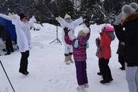 «День снега» в Пено