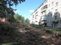 Ремонт ржевских дворов завершат весной