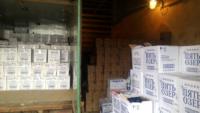 В Твери «накрыли» склад с «левым» алкоголем