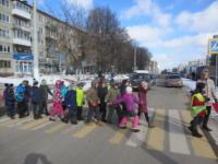 В Твери прошла акция «Юный пешеход»