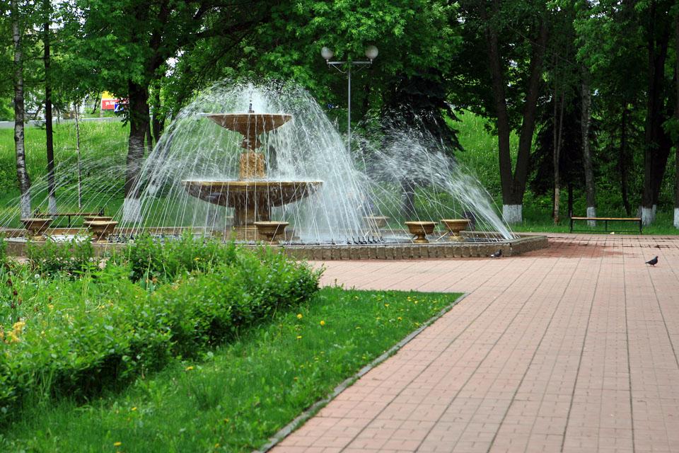 Первые фонтаны заработали вТвери