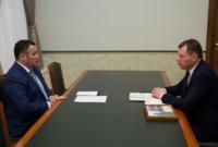 Игорь Руденя встретился с главой Жарковского района
