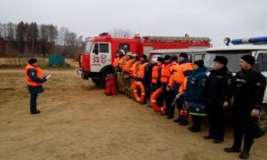 В Калязине прошли учения по практической отработке действий по спасению людей на водных объектах