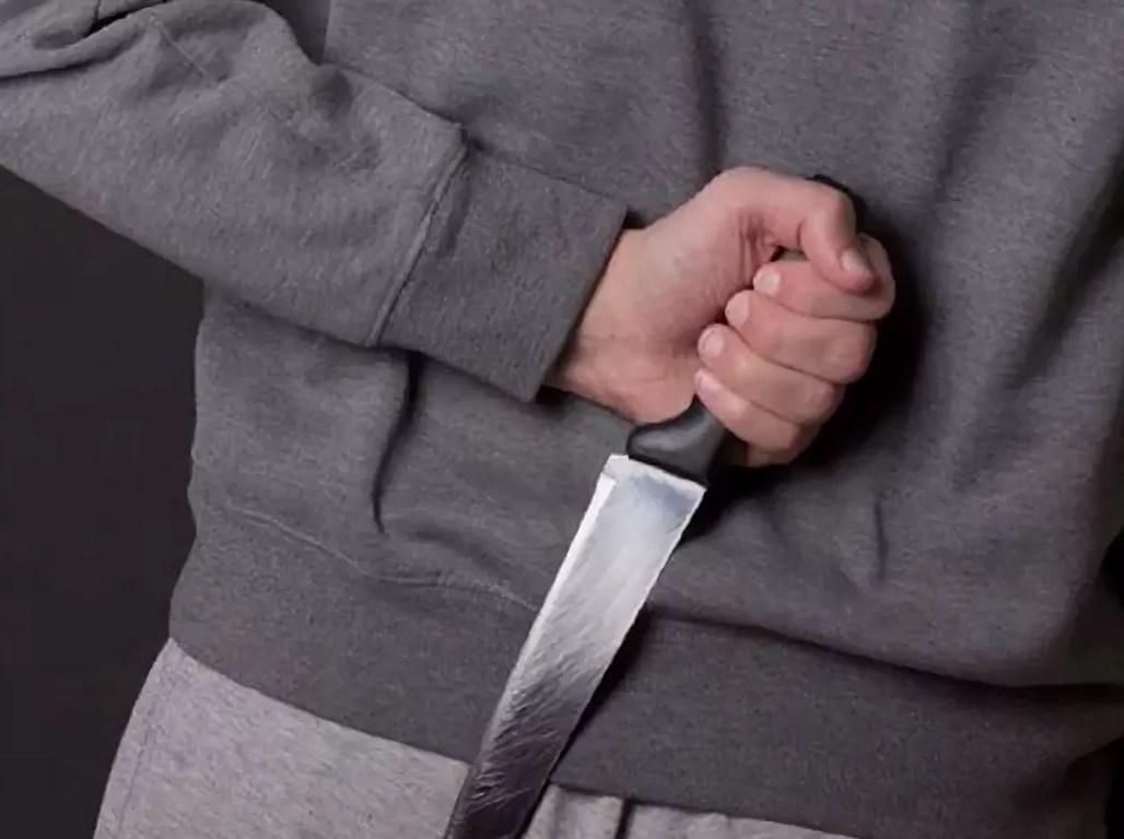 Нападение с ножом картинка